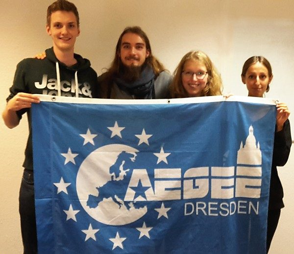 Vorstand 2016: Felix, Nico, Luisa, Beti