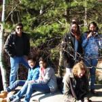 Wandern mit Erasmus-Studierenden