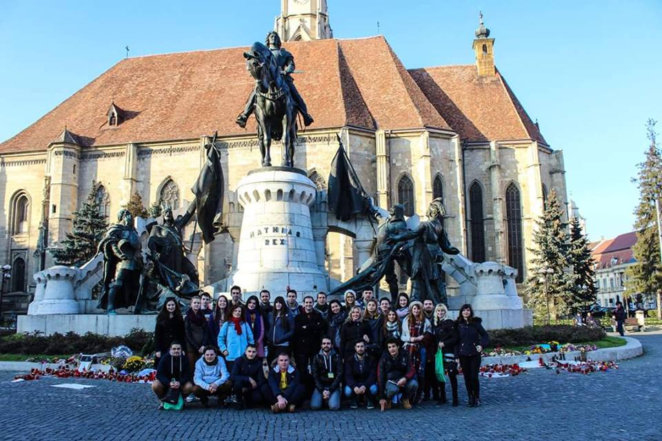 Participants of the AEGEE Network Meeting Cluj-Napoca 2015