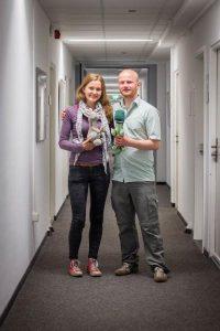 Der IISA-Vorstand 2015/2016: Nadja und Christian
