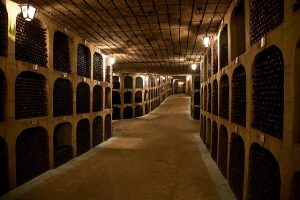 The underground wine city of Mileștii Mici Winery near Chisinau, holding the Guinness World Records of being the longest winery in the whole world with the highest capacity of storage.