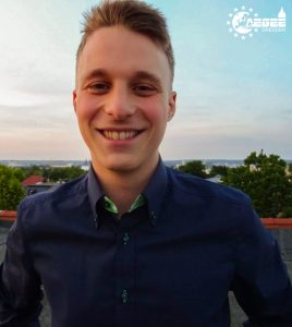 Lukas Herzog - the new Treasurer